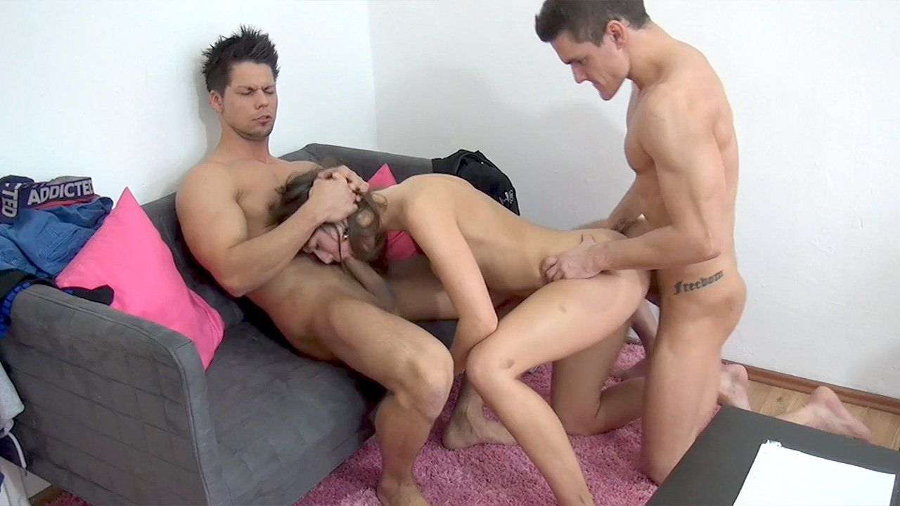 Girl Is Fucked By Two Guys